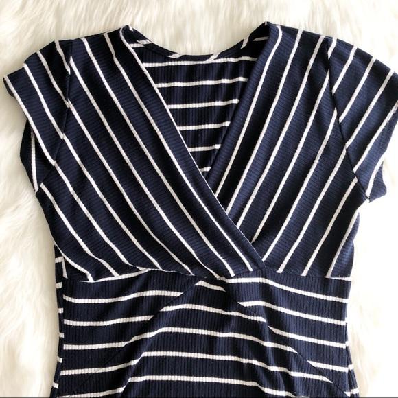 Routn Dresses & Skirts - Knit Striped Dress